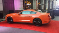 attachment.php (1024×576). Orange 2015 Mustang Not as cool as the red one, but still cool.