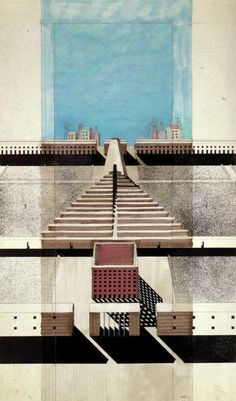 Magazine - Drawings and Sketches by Italian Architect Aldo Rossi