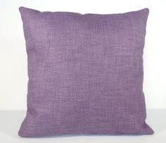 Pillow Cover Purple Home Decor Pillow Purple by DebsCottonCottage