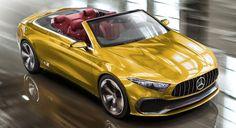 2017 Mercedes-Benz Concept A Convertible Concept