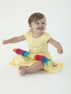 Free Knitting Pattern L40275 Sssammy Snake : Lion Brand Yarn Company