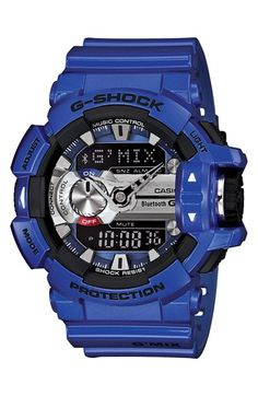 G-Shock Bluetooth Enabled Watch, 55mm x 52mm available at #Nordstrom