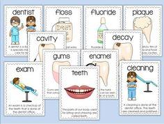 DENTAL HEALTH ACTIVITIES-HAPPY TEETH! - TeachersPayTeachers.com ... create my own set for the bulletin board for Dental week