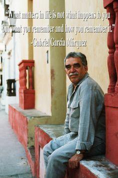 In Loving Memory Of Gabriel García Márquez (March 6, 1927 - April 17, 2014).