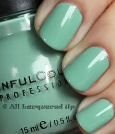 Less expensive polish brands can have colors identical to the pricey ones. Look at this Sinful Colors - Open Seas is an Identical match to OPI - Mermaid's Tears! Average cost of OPI polishes $8.50. Approximate cost of Sinful Colors polishes $1.99 !