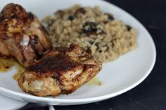 Quick spiced chicken recipe from Ruth Reichl.    One of my go-to's!