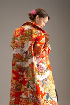 Anna Niponica Remake Kimono Collection - Kimono coat/jacket from wedding Kimono