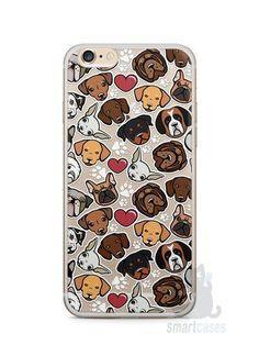 Capa Iphone 6/S Plus Cachorros