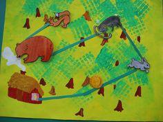 Roule Galette - Album illustré par élèves (format A3) Petite Section, Conte, Album, Maths, Big, School, Carnival, Kings Crown, Teaching