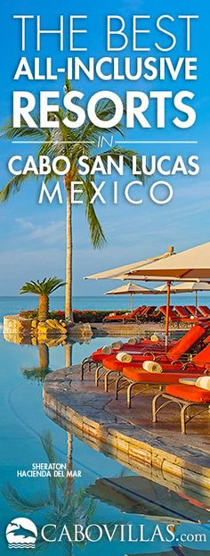The best all-inclusive resorts in Los Cabos, Mexico. The all-inclusive resorts of Cabo offer a comfo All Inclusive Beach Resorts, Best Resorts, Best Vacations, Vacation Destinations, Vacation Trips, Vacation Spots, All Inclusive Mexico, Vacation Places, Mexico Resorts