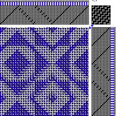 Patterned Double Weave Draft 2