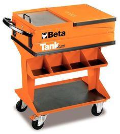 CARRELLO TANK CON MENSOLA 840x1220x450 mm BETA C25
