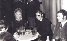 Michelle McKay, Fr. Butcher and  John Mussell. 1966