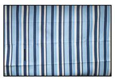 Modrá pásikavá deka na piknik Curtains, Home Decor, Blinds, Decoration Home, Room Decor, Draping, Home Interior Design, Picture Window Treatments, Home Decoration