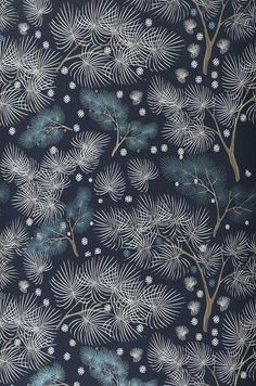 Tawia | Papier peint romantique | Motifs du papier peint | Papier peint des années 70