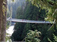 Capilano Suspension Bridge Park, BC Canada