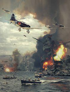 ArtStation - Pearl Harbor, Dave Seeley