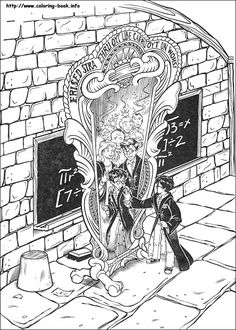 Harry Potter Coloring Pages 8 Kids Printables