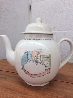 Wedgewood Peter Rabbit Tea pot #TeaPot