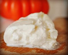 Here we are again with our Fresh Italian Cheese. The Unique, Fresh, Italian Burrata! Enjoy your lunch! #mozzarella #burrata #cheese #italy #italia #food #gourmet #bravoitalygourmet