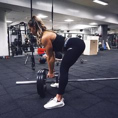 @hannaoeberg Did some different kind of deadlifts today