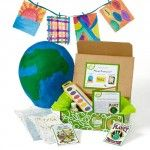 Our Planet Protector Discovery Box teaches kids about protecting the planet by introducing the three R's: reducing, reusing, and recycling. $29.95.