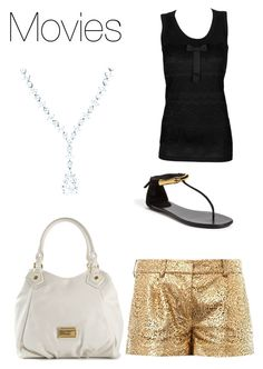 """Movies"" by its-massieee ❤ liked on Polyvore featuring Diane Von Furstenberg, D&G, Tiffany & Co., Gucci and Marc by Marc Jacobs"