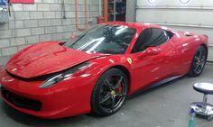 Ferrari 458 Italia %u2013 folia ClearPlex | Warsfollcompl