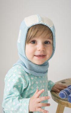 Novita Oy - Neulemalli: Vauvan neulottu kypärämyssy