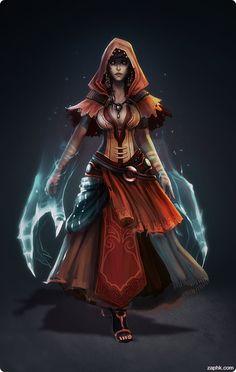 [witch, sorcerer]