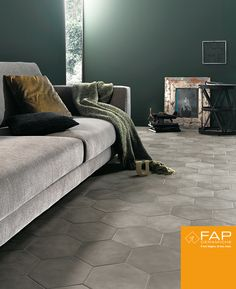 #Firenze #Grey: A highly sophisticated tone for a #floor with unmatched personality.