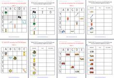 Razonamiento logico atención el juego de los barquitos en imagenes con Plantilla editable Free Kindergarten Worksheets, Math Humor, Editable, Periodic Table, Bullet Journal, School, Activities, Geography, Teaching Supplies