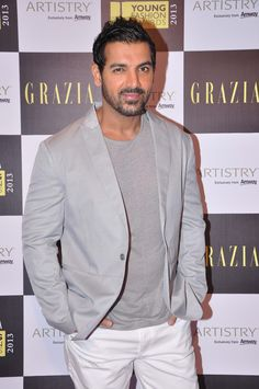 John Abraham at Grazia Young Awards 2013.