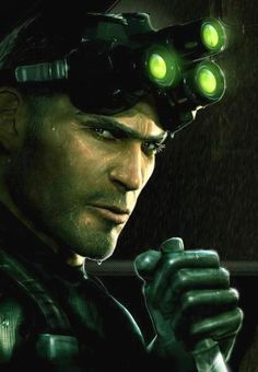 Been playing the original Splinter Cell games recently, pretty cool being sneaky! Splinter Cell Games, Tom Clancy's Splinter Cell, King's Quest, Lincoln Clay, Splinter Cell Blacklist, Generation Game, Video Game Characters, Shadowrun, Bioshock