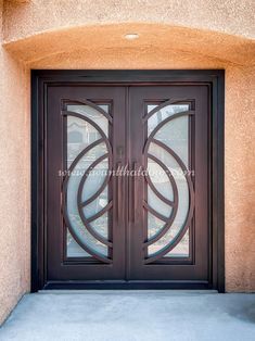 What is new in iron door design? This is a question that comes to mind when we want to replace already installed doors on our properties. Universal Iron Doors has some new models of iron doors which you would like to use on your homes! 💡 About this design: Lititz Double Entry Iron Door ☎️️ 877-205-9418 🌐 www.iwantthatdoor.com Wrought Iron Doors, New Model, Door Design, Home, Wrought Iron Gates, Ad Home, Homes, Haus, Houses