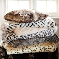 #1 on my Christmas wish list this year.... a super nice fur throw