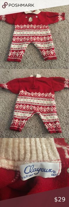 Shop Kids' Clayeux Red White size Bodysuits at a discounted price at Poshmark. Tommy Hilfiger Jeans, Tommy Hilfiger Women, Baby Orchid, Winter Suit, Britney Jean, Denim Pencil Skirt, Purple Lace, Boutique Design, Plus Fashion