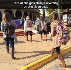 SFA!! And it's so true!!! bahahah so glad I was never one of those girls!