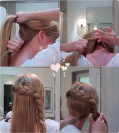 9 Easy and Cute French Braided Hairstyles for Daily Creation Braided hairstyles with hair extensions