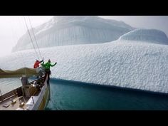 Inside the gorgeous and terrifying sport of iceberg climbing, which is apparently a thing
