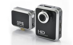 """1080p HD Sports Camera and Car DVR """"Limitless"""" - 1.5 inch Screen, GPS Tagging; http://www.chinavasion.com/6b7e-DigitalCamerasCamcorders/"""