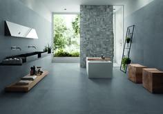Badezimmer In Steinoptik   Moderne Fliesen Www.franke Raumwert.de    Messeneuheit #