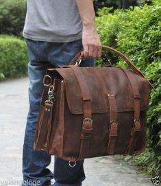 Cool Vintage Leather Carry-on