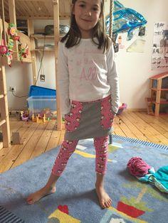 Kuschelrock mit leggings