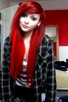 Alternative girl hair