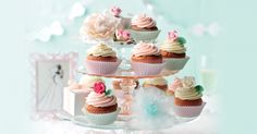 Surprenez vos convives avec ce duo de cupcakes très chic !