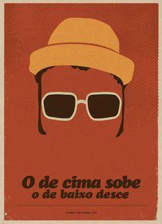 HumorDeCadaDia: Artista ilustra brasileiros em cartazes minimalistas
