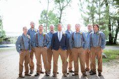 groomsman suspenders. Minneapolis wedding photographer. Dana J Photography. mn weddings.  www.danajphoto.com