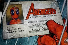 It's officially official!!! #deadpool #avengers #avengersassemble #parlorstreet #marvel #comics #marvelcomics #0