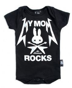 My Baby Rocks: Punk, Gothic, Rock and Funky Baby, Toddler & Kids Clothes. Need to get Colin and Serenity matching tees!